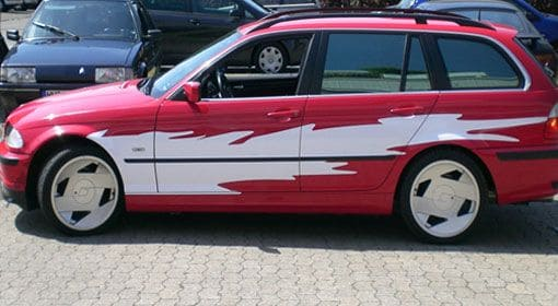 Car Wrapping Vom Folienmeister In Lubeck Folie Statt Lack